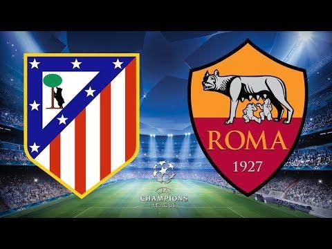 Champions League 2017/18 - Atletico Madrid Vs Roma - 22/11/17 - FIFA 18