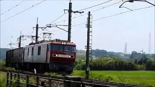 東北本線貨物列車 20170529