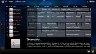 Install Kodi, PVR IPTV Simple and Free IPTV on Ubuntu