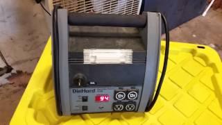 Diehard portable power 1150 constant beep