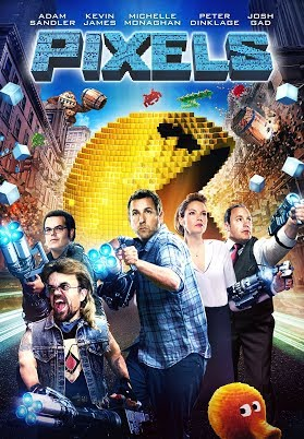 Pixels 2015 BluRay 480p 300MB ( Hindi – English ) MKV