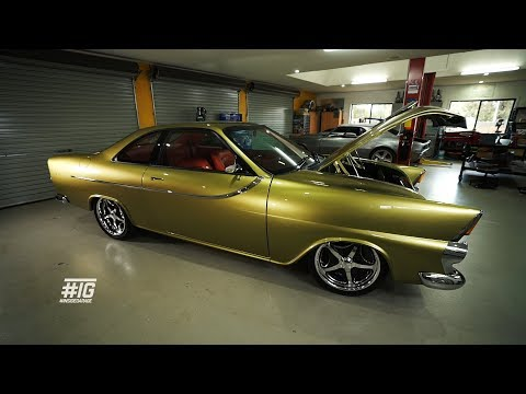 INSIDE GARAGE: Holden FB concept build combining FIVE cars into one!!