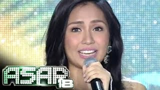 Repeat youtube video Kathryn Bernardo celebrates birthday on ASAP 18