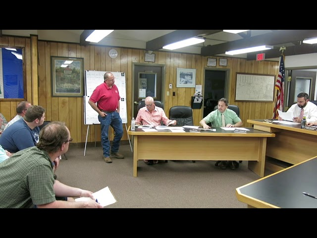 Peru Town Board Meeting  5-29-18