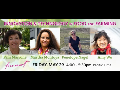 Innovation And Technology In Food And Farming