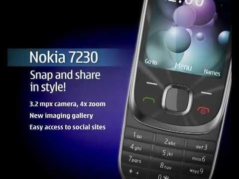 Nokia 6700 slide e Nokia 7230 - promo