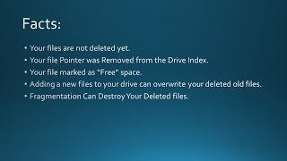 The Theory behind Data Recovery Software and how it Works