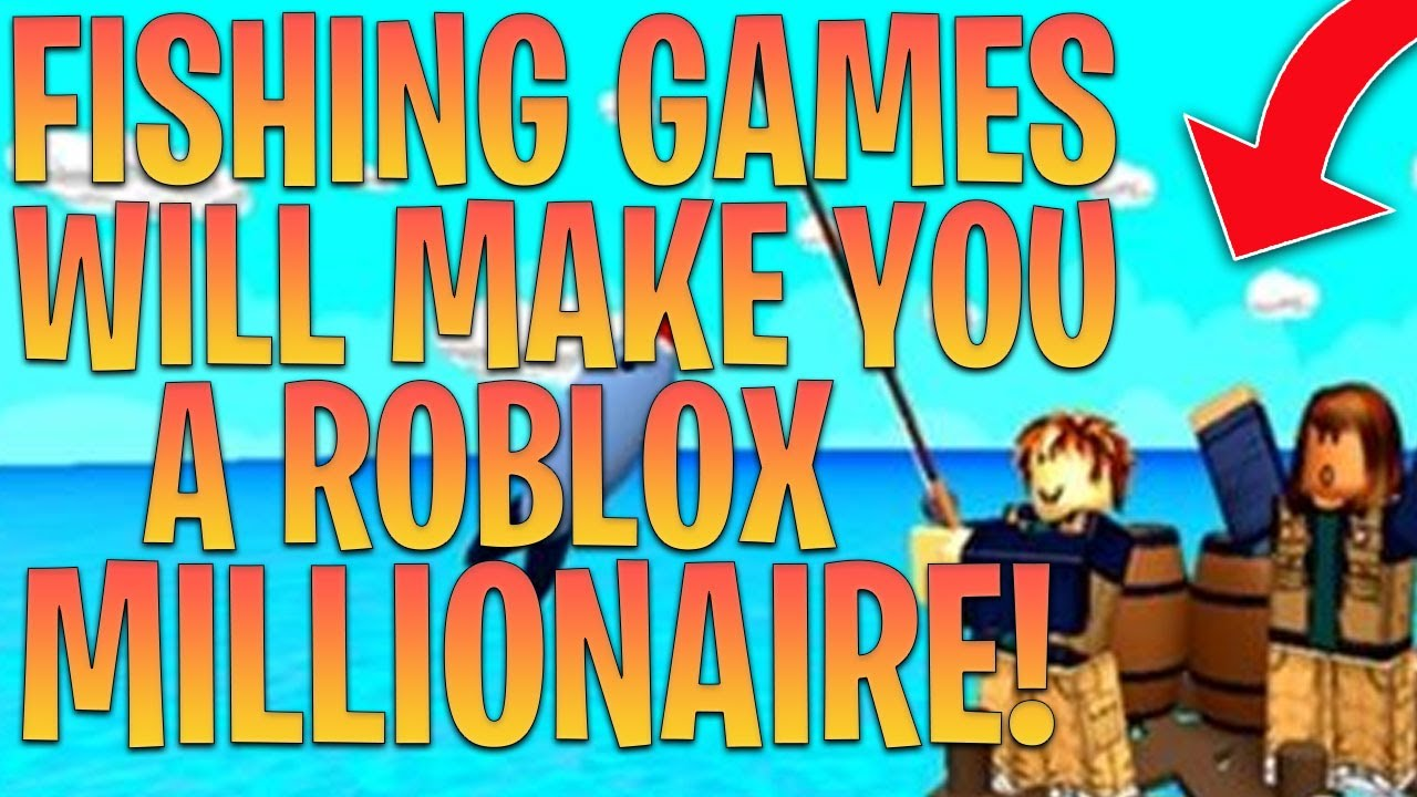 10 Fishing Roblox Games that can make you A TON OF ROBUX!