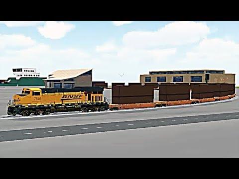 Train Sim - Port of Call Using GE ES44DC (Evolution Series) - Simulasi Kereta Api