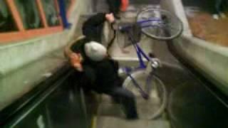 Cykelbudet Robban J i Trångsund 2