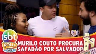 Murilo Couto corre por Salvador procurando Wesley Safadão   SBT Folia 2017
