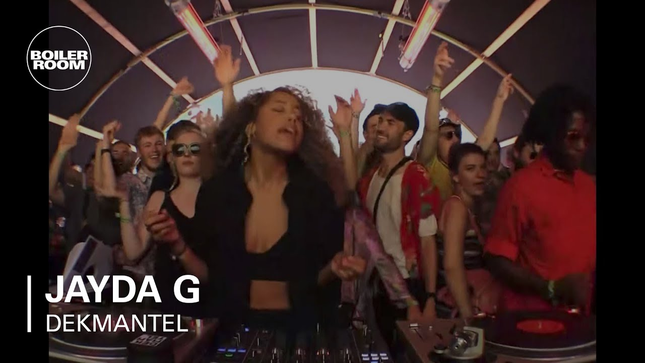 Youtube Jayda G Boiler Room Dekmantel