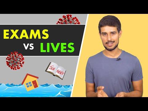 Why Postpone JEE & NEET Exams? | Dhruv Rathee