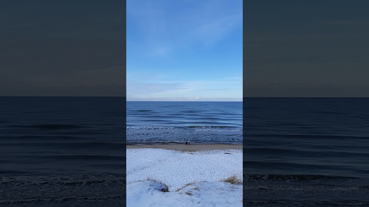 Море в феврале