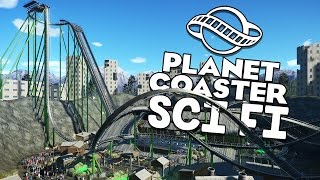 Planet Coaster Gameplay - Post Apocalyptic Finished! - Let's Play Planet Coaster Part 11