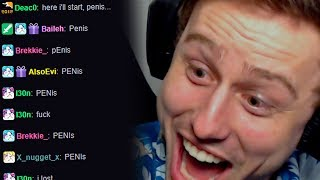 Twitch Chat Plays The Penis Game
