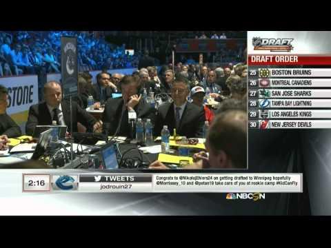 2014 NHL Hockey Draft From Philadelphia PA.1st Round Picks 21-27.