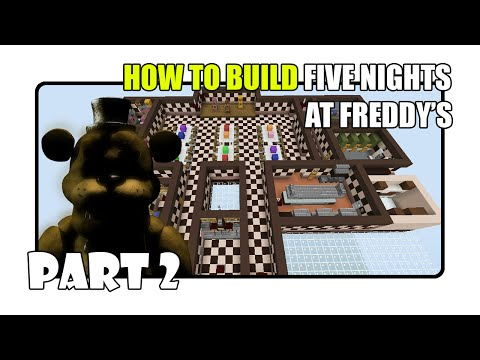 How To Build Five Nights at Freddy's Map in Minecraft