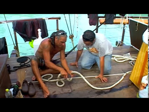Pt 1 of 2 on a journey across the pacific ocean on board Vaka Hine Moana