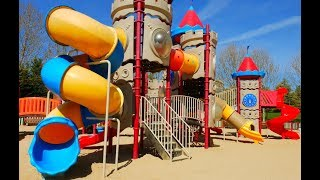 Kids Playground Playing PlayArea For Kids with SLIDES Fun in the Kids Area
