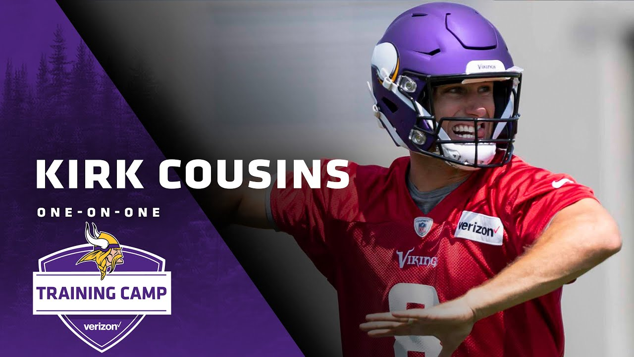 brand new 9edfe 1d596 Kirk Cousins: I'm Excited For What This Season Could Turn Out To Be |  Vikings