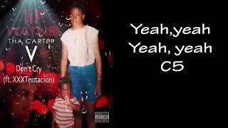 New album Lil wayne Don't Cry