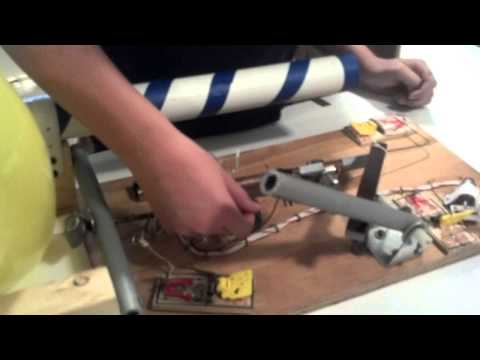 Balloon Popping Machine Science Project Mousetrap