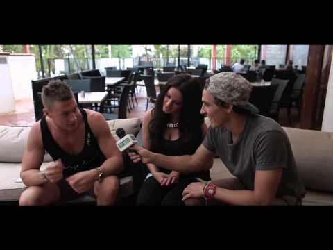 City Beach | Interview with Scott & Vicky from Geordie Shore