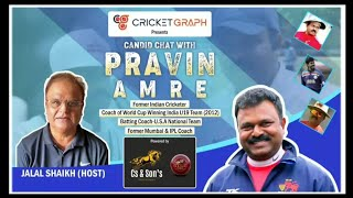 Pravin Amre- Former Indian Cricketer & Renowned Coach in a Candid Chat with Cricketgraph