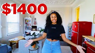 MY $1400 ONE BEDROOM APARTMENT TOUR IN LOS ANGELES ?
