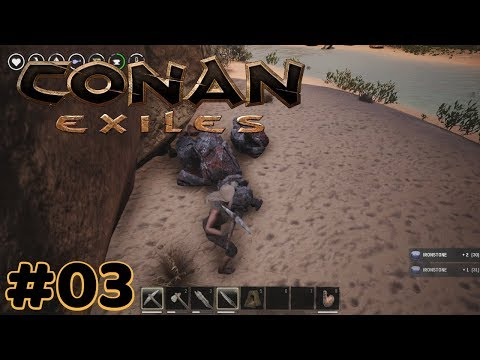 Conan Exiles - Iron, Furnace and Bit of Building - #03