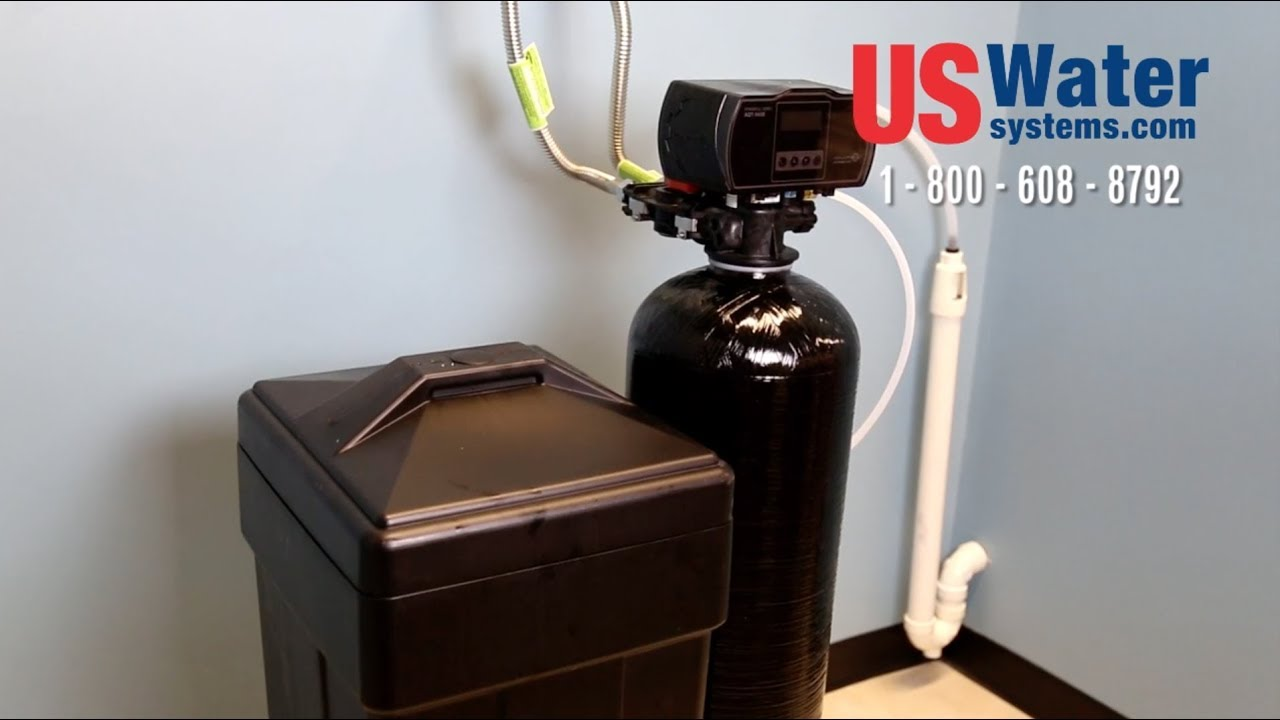 How To Install A Water Softener Us Water Systems Youtube
