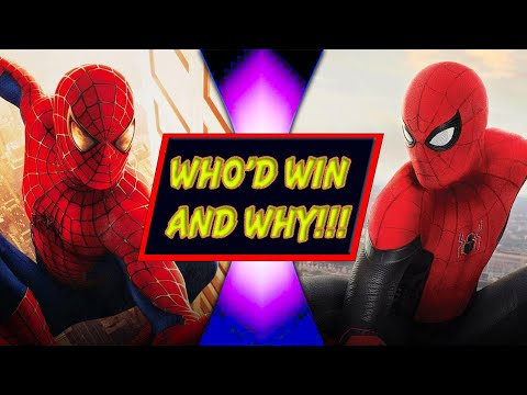 Spider-Man VS Spider-Man (Tobey Maguire VS Tom Holland) - WHO'D WIN AND WHY!!!