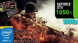 Medal of Honor Warfighter  GTX 1050TI 4GB | multiplayer | Ultra settings | 1080p