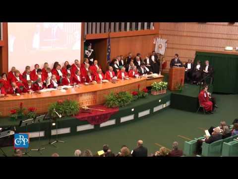Il Corecom all'inaugurazione dell'anno giudiziario