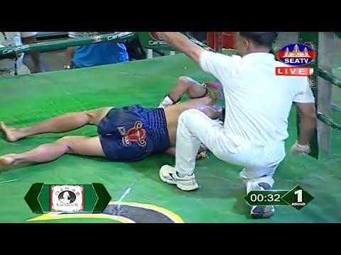 Long Chin vs Petchtou(thai), Khmer Boxing Seatv 02 June 2018, Kun Khmer vs Muay Thai