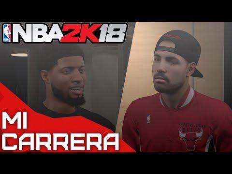 NBA 2K18 PS4 MI CARRERA - ¿¡PAUL GEORGE ME CONVENCE PARA FIRMAR CON NIKE!? - AIRCRISS #13