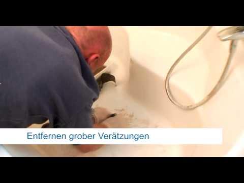 repair concepts bade duschwannenreparatur acryl sureschaden youtube - Wohnmobil Dusche Reparieren