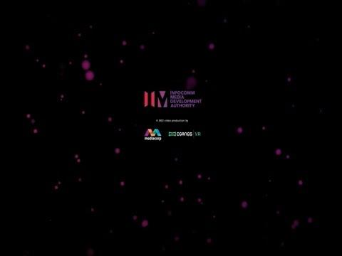 Karin Emcee - 360 tour of Singapore's IMDA Launch Event