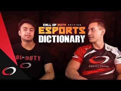 Esports Dictionary - Call of Duty Edition | Gaming Slang