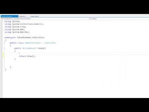 DevExpress ASP.NET MVC: The TokenBox Editor