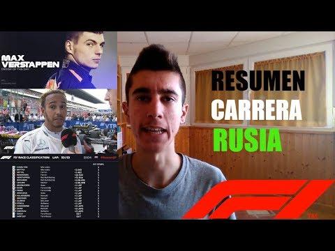 RESUMEN CARRERA GP RUSIA 2018 || TEMPORADA F1 2018 || RoberSR