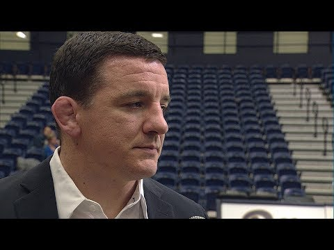 Wrestling | Head Coach Keith Gavin Post Match Interview | South Dakota State