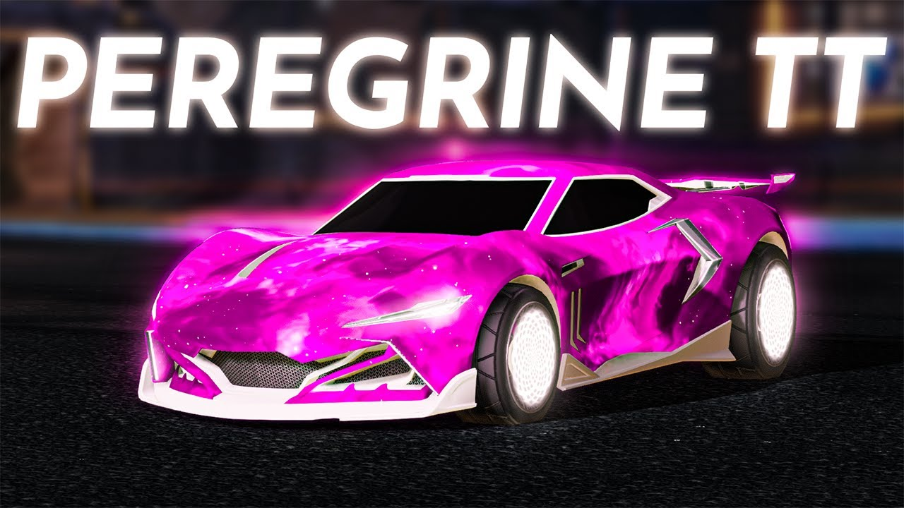 New Rocket League Peregrine Tt Car Showcased With All Black Market Decals Youtube