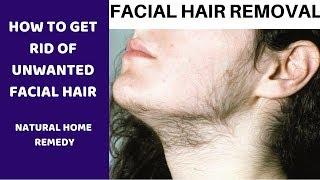 பெண்களுக்கு முகத்தில் தேவையில்லாத முடி நீங்க  Facial hair removal natural way to remove facial hair