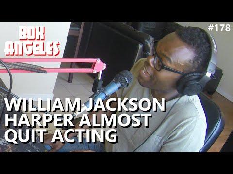 William Jackson Harper Almost Quit Acting