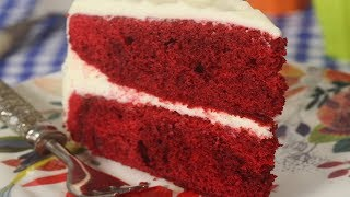 Red Velvet Cake Recipe Demonstration - Joyofbaking.com