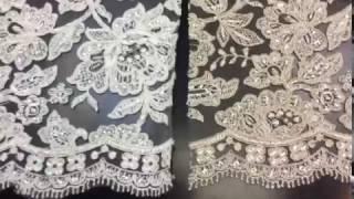 кружево для свадебного платья Luxury Jacqueline