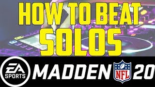HOW TO EASILY WIN EVERY SOLO! BEST OFFENSIVE AND DEFENSIVE PLAYS IN MADDEN 20 AGAINST THE COMPUTER