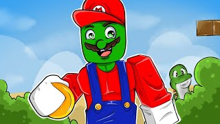 👉 PLAYING SUPER MARIO IN ROBLOX!